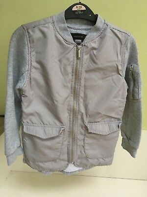 River Island Girls Grey Jacket 5–6 years ⭐️Ex Condition⭐️