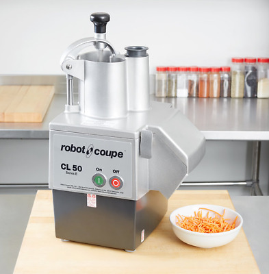 Brand New Robot Coupe 1 & 1/2 Hp Continous Feed Commercial Food Processor Cl50