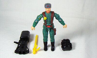 GI Joe Weapon Black Figure Stand 1992 Original Figure Accessory