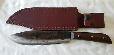 Jeff White Handcrafted Jrt Large Bowie Knife