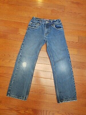 Levis 514 Slim Straight Boys Jeans 7 Boy Denim Pants