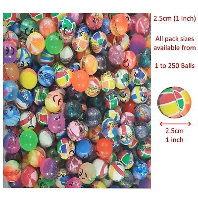 Bouncy Balls Jet Balls Birthday Party Bag Fillers Bouncing Balls Party Balls