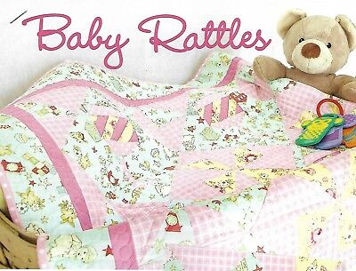 *Baby Rattles Quilt quilting pattern instructions