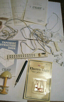 DOLLHOUSE Wiring Electrical 1:12 Cir-Kit 1015 Tapewire Instruction Booklet