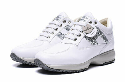 Hogan Interactive Scarpe Bianche Donna Tg.size 35-40 Nuove Shoes Women Sneakers
