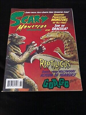 Scary Monsters Magazine #58 Sci-Fi Pre-historic Monsters Issue Horror Film Gorgo