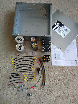 7.5HP Rotary Phase Converter Quick Build Kit