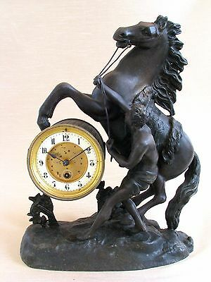 Antique 19thC French Figural Mantel Clock