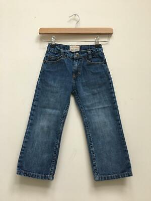 Boys Timberland Blue Denim Adjustable Waist Jeans Size Kids Age 4 Years
