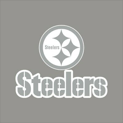 Pittsburgh Steelers #4 NFL Team Logo Vinyl Decal Sticker Car Window Wall