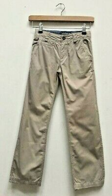 Boys Timberland Stone Earth Keepers Cotton Chino Trousers Size Kids Age 8 Years