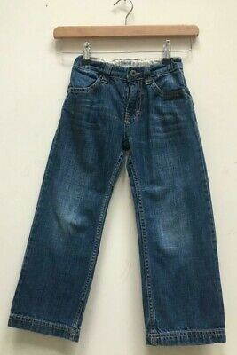 Boys Timberland Blue Denim Adjustable Waist Jeans Size Kids Age 5 Years