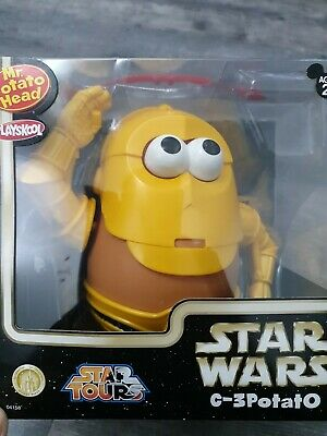 Mr Potato Head C-3PO Playskool Official Star Wars Hasbro