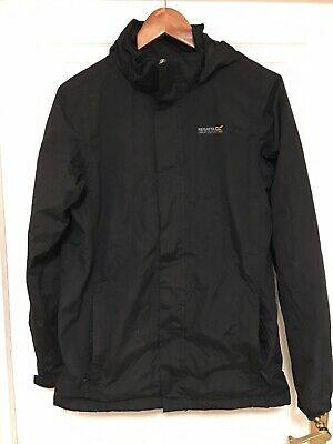 "REGATTA boys black waterproof jacket size 34"", EUR 176"