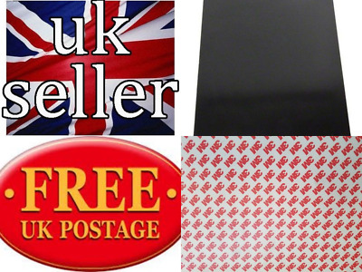 Self Adhesive magnetic tape 3M backing  A4 sheets 0.4mm 0.8mm 1mm & 1.5mm thick