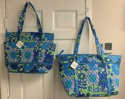 Vera Bradley NWT Doodle Daisy RETIRED Print - Go Round Tote OR Miller Bag