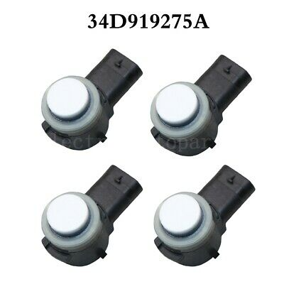 4X PDC Parking Sensor 34D919275A 2782264 For Volkswagen Audi A3 8V1 Golf