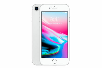 Apple iPhone 8 - 256GB - Silver Verizon (CDMA + GSM) AT&T Tmobile Unlocked - New