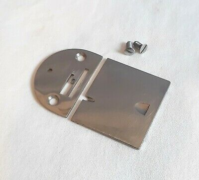 Singer 66 99 185 Sewing Machine Needle Throat & Slide Bobbin Cover Plates