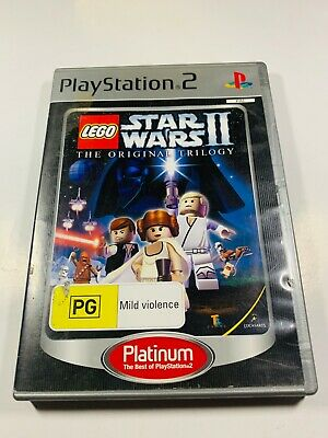 LEGO Star Wars The Original Trilogy - PS2 PAL *Complete*
