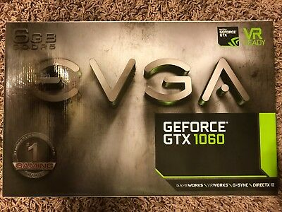 EVGA NVIDIA GeForce GTX 1060 Gaming 6GB Video Card
