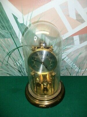 Vintage AUG SCHATZ & SOHNE 49 Germany Domed Anniversary Clock Repair/Parts ONLY