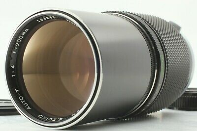 【Excellent+5】Olympus OM-SYSTEM E.Zuiko AUTO-T 200mm f/4 MF Lens From Japan #035