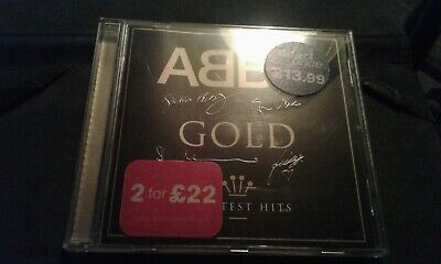 ABBA - Gold (Greatest Hits, 2003) CD ALBUM
