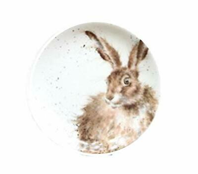 Royal Worcester Wrendale Individual 16.5 Centimeter Tea Side Plate - Hare