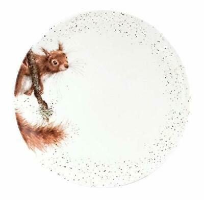 Royal Worcester Wrendale Individual 26.5 cm Coupe Dinner Plate - Squirrel
