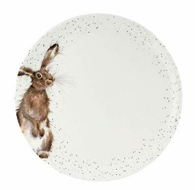 Royal Worcester Wrendale Individual 26.5 cm Coupe Dinner Plate - Hare