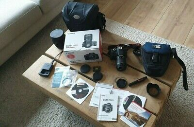 CANON EOS 100D EF-S 18-55 IS STM Kit + umfangreiches Euqipment