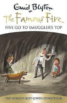 Five Go To Smuggler's Top: Book 4 (Famous Five), Blyton, Enid, New Book, FAST De