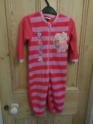 Girls Peppa Pig All in one suit Pink age 2-3 years