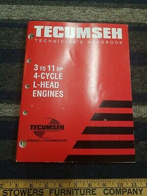 1998 Tecumseh Technician's Handbook for Engines & Transmissions