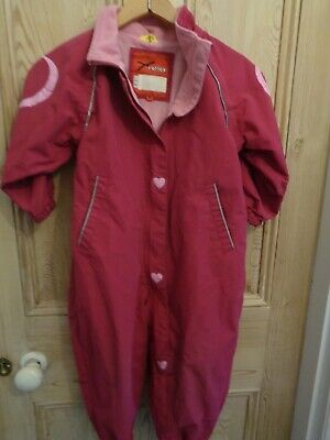 Girls All In One Suit Size 98 cms Muddy Puddles or Ski?