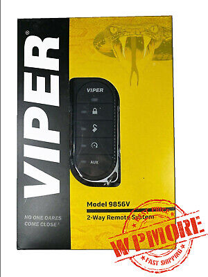 VIPER 9856V 2-WAY LED RF Remote System 1-Mile Range for Viper Remote Starters