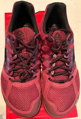 New Mens Reebok Crossfit Nano 2.0 Mens Size 11 Rustic Wine/Black