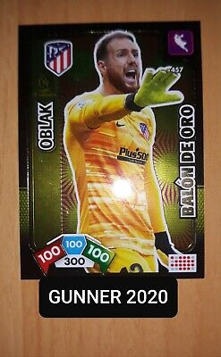 Oblak Balon De Oro . Adrenalyn Xl 2019_2020 .