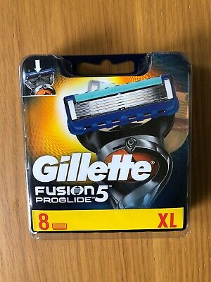 gillette fusion 5 proglide blades Pack Of 8 New And Sealed
