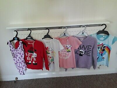 New With Tags Girls Clothes Bundle Age 5/6 Years