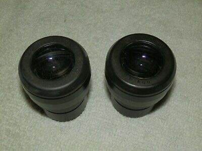 Nikon Eclipse Pair CFI 10x/18 Eyepieces Microscope With Pointer - From E100