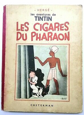 Tintin Les Cigares Du Pharaon  A16 DE 1941 BE+/TBE