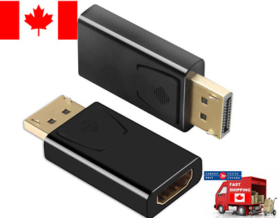 DISPLAYPORT DP to HDMI ADAPTER Converter Gold Plated Male / Female