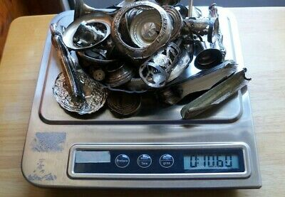 Lot of 10 oz Scrap Sterling Silver Clean Not Weighted