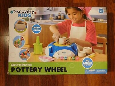 Discovery Kids MOTORIZED POTTERY WHEEL - New!