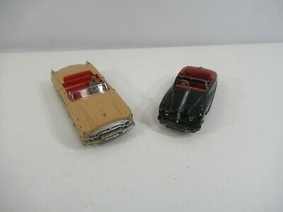 Dinky Toys Packard Austin Atlantic Meccano England Lot of 2 VTG Cars 1960s