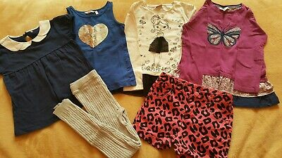 Lovely Girls Body Tops Short Leggins Bundle Mixed Brand See Labels👇 Age 5-6 yrs
