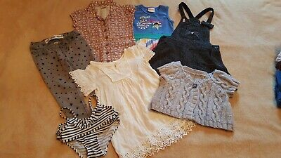 Lovely Girls Dress Jeans Swimsuit Top Bundle See Labels👇 Age 3-4 yrs