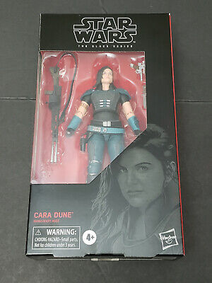 "2019 Star Wars The Black Series 6"" CARA DUNE 101 Mandalorian Gina Carano IN HAND"